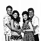Frankie Avalon, Annette Funicello, Tommy Hinkley, and Lori Loughlin in Back to the Beach (1987)