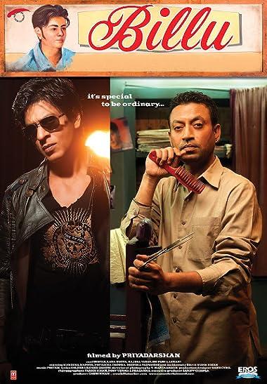 Poster of Billu 2009 Full Hindi Free Download Watch Online In HD Movie Download 480p BluRay