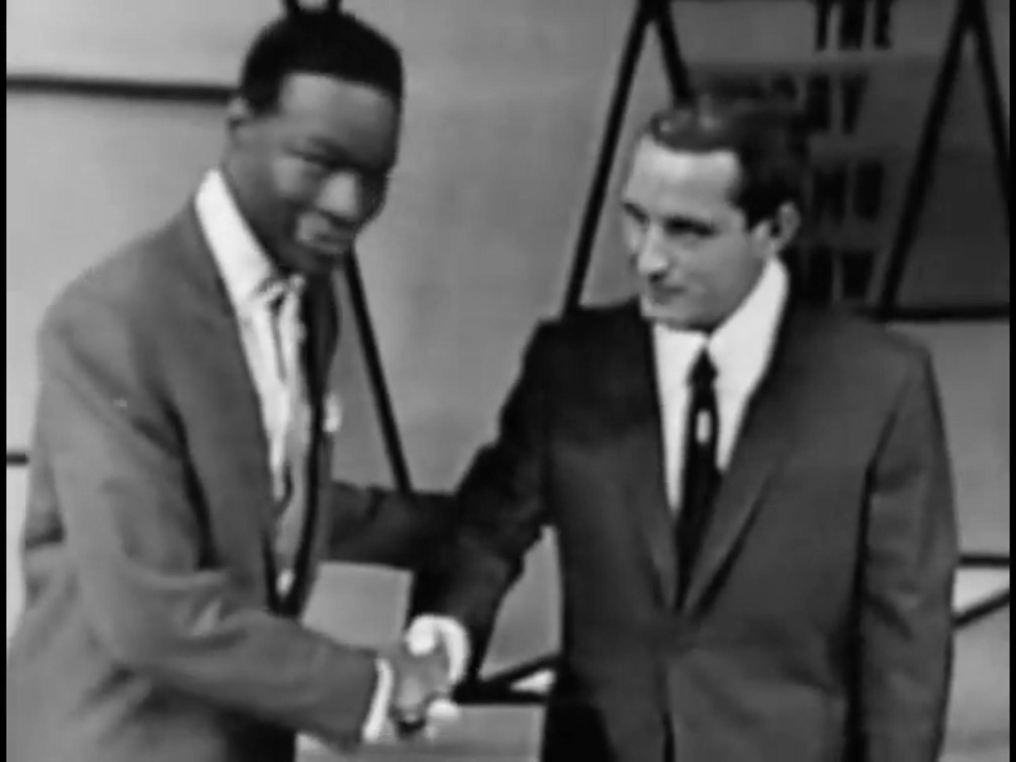 Nat 'King' Cole and Perry Como in The Perry Como Show (1948)