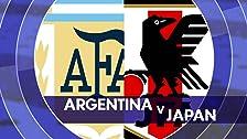 Argentina vs.Japón