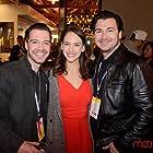 Michael Olavson, Lizzie Zerebko, and Drew Walkup at Cinequest Film Festival