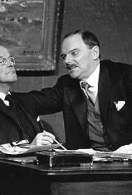 Björn Granath and Ingvar Kjellson in Sista skriket (1995)