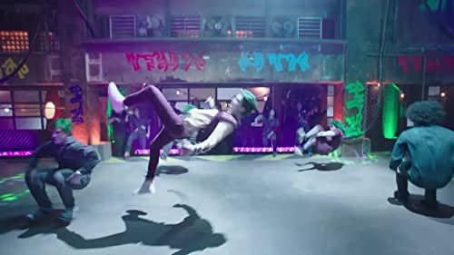 """The stars of """"ZOMBIES,"""" Milo Manheim and Meg Donnelly,  and choreographer Christopher Scott and Disney Channel's Steven Vincent breakdown the musical number """"BAMM."""""""