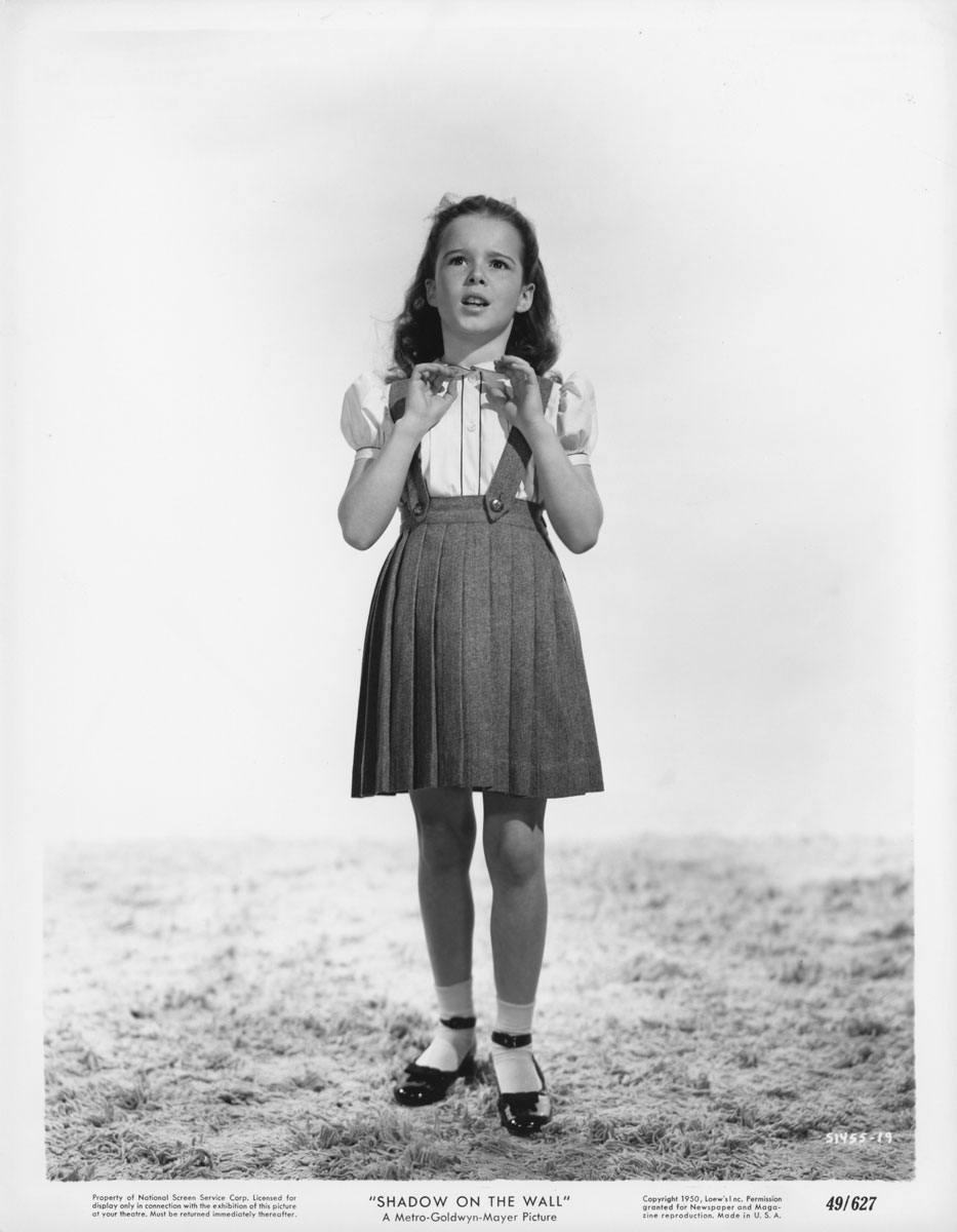 Gigi Perreau in Shadow on the Wall (1950)