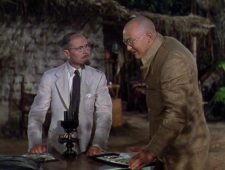 Albert Dekker and Charles Halton in Dr. Cyclops (1940)
