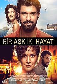 Engin Akyürek and Bergüzar Korel in Bir Ask Iki Hayat (2019)