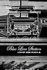 Blue Line Station Poster