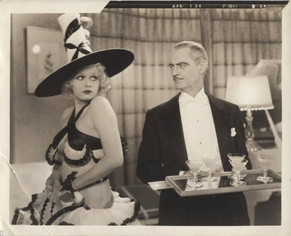 Lionel Barrymore and Jean Harlow in The Girl from Missouri (1934)