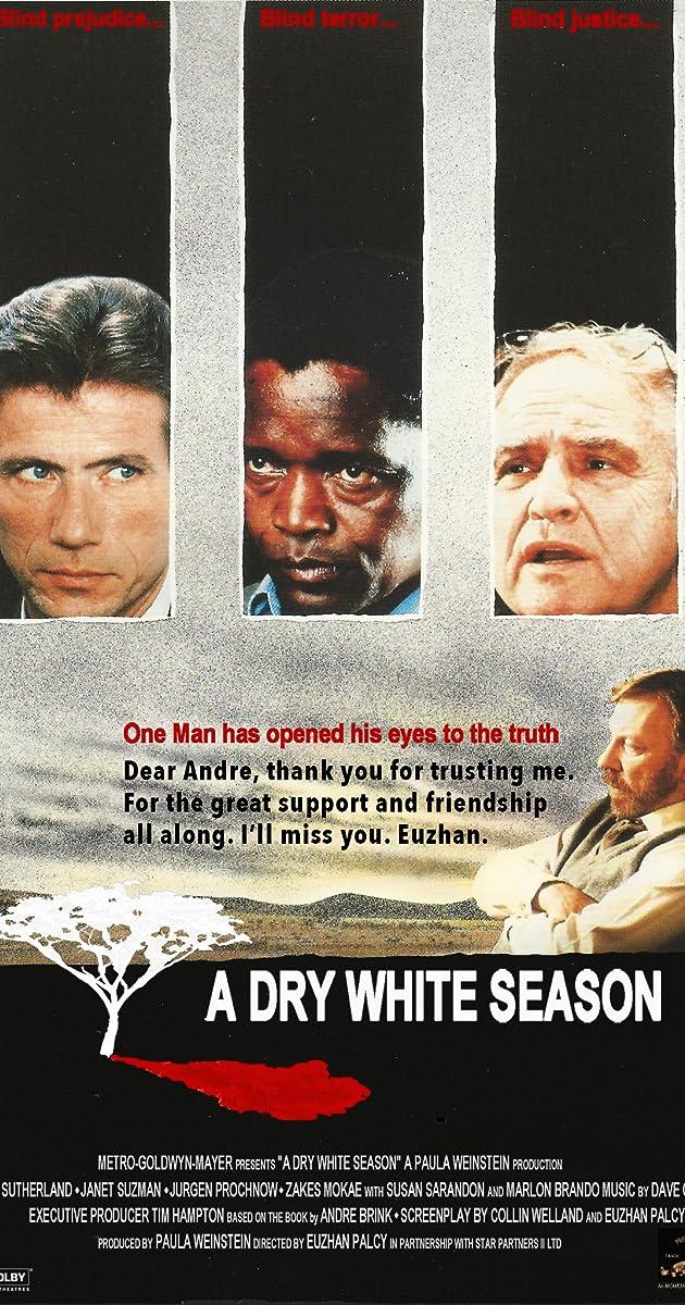 Subtitle of A Dry White Season