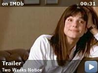 Two Weeks Notice 2002 Imdb