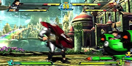 Marvel Vs. Capcom 3: Fate Of Two Worlds Gameplay 2