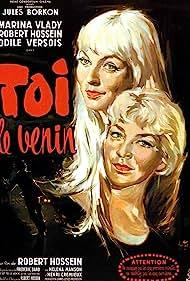 Odile Versois and Marina Vlady in Toi... le venin (1958)