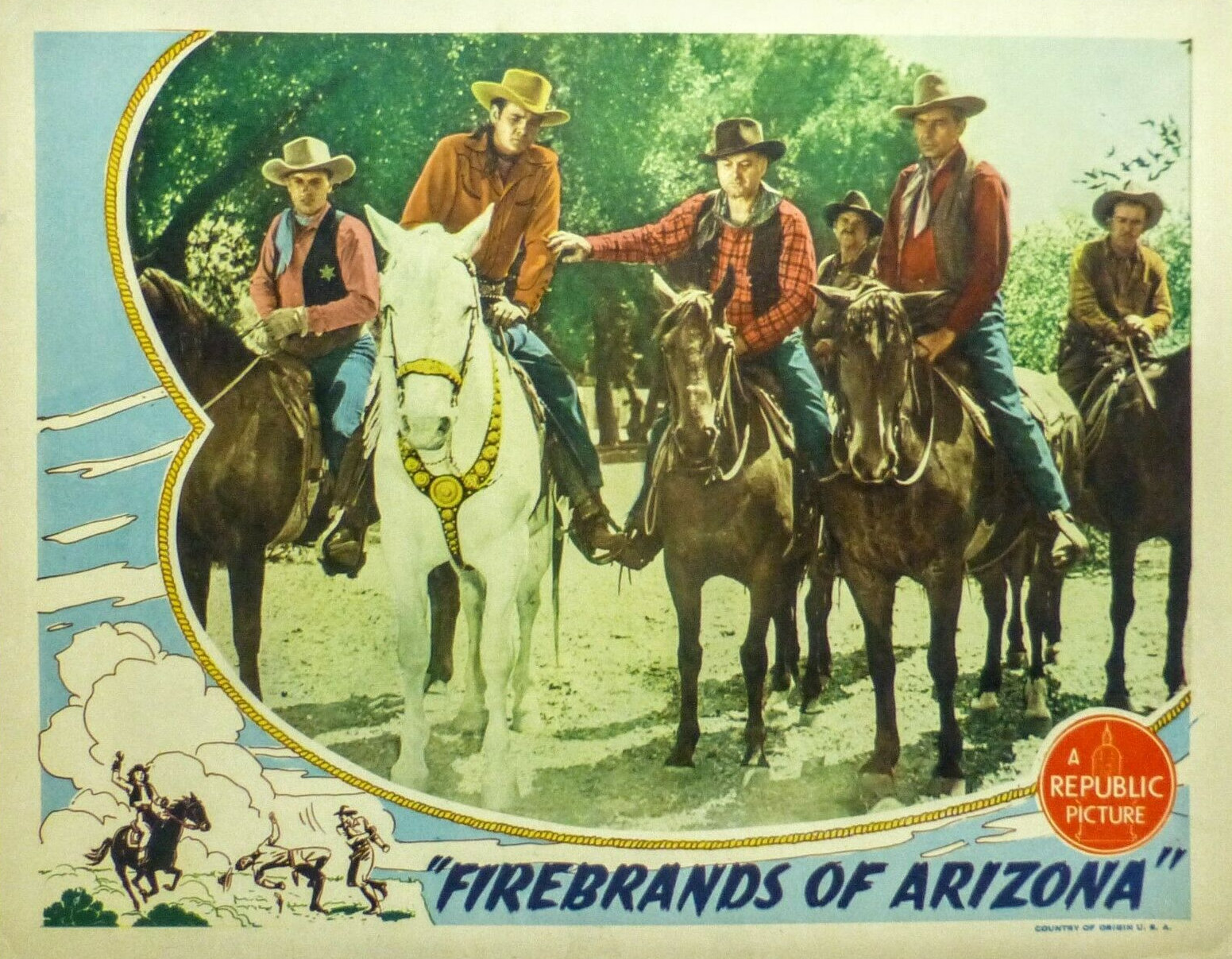 Firebrands of Arizona (1944)