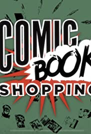Comic Book Shopping Poster