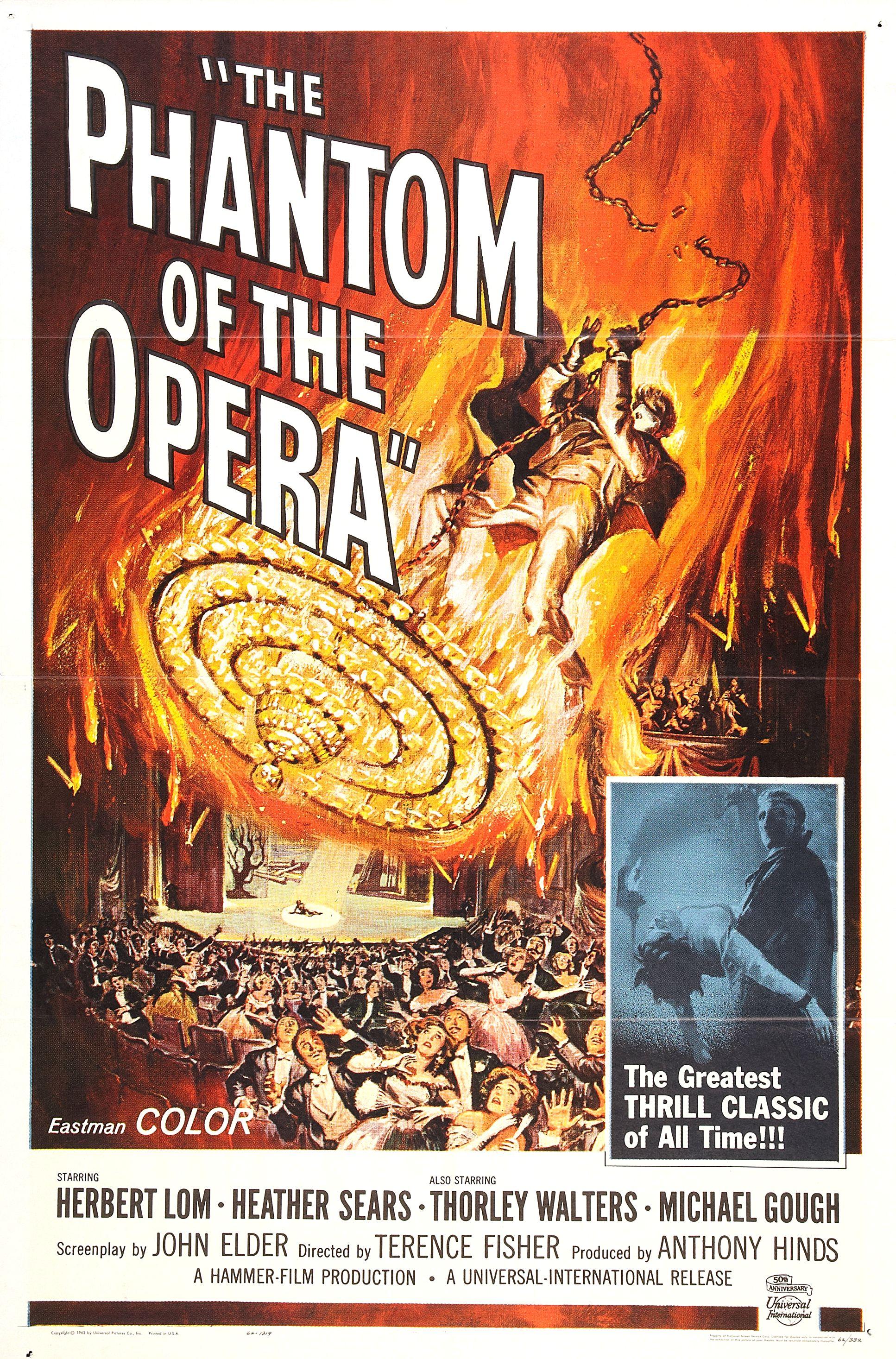 The Phantom Of The Opera 1962 Imdb