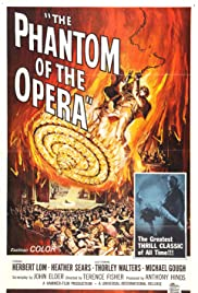 The Phantom of the Opera (1962) Poster - Movie Forum, Cast, Reviews