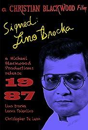 Signed: Lino Brocka Poster