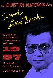 Watch free new comedy movies Signed: Lino Brocka USA [DVDRip]