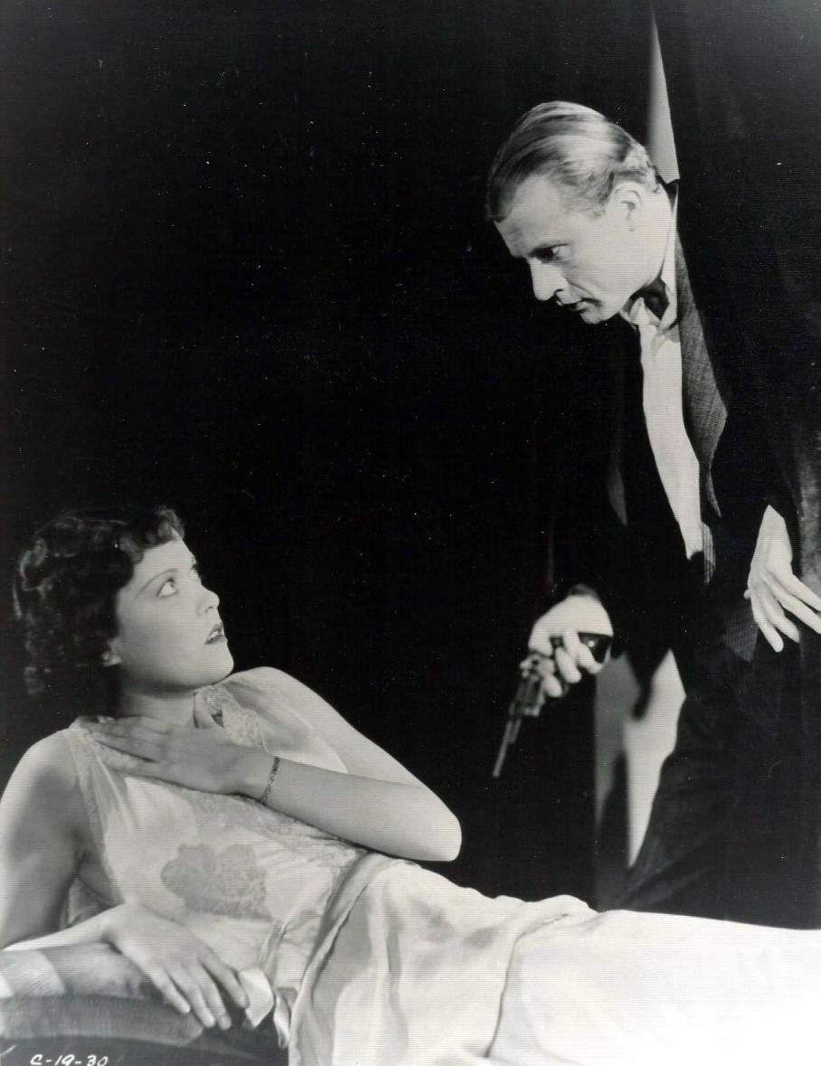Dwight Frye and Barbara Weeks in By Whose Hand? (1932)