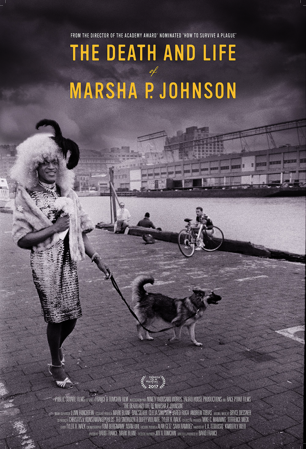 The Death and Life of Marsha P. Johnson (2017) WEBRip 480p, 720p & 1080p