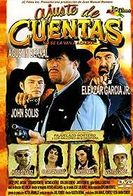 Agustín Bernal, Eleazar Garcia Jr., and John Solis in Ajuste de cuentas (2000)