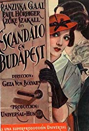 Romance in Budapest Poster