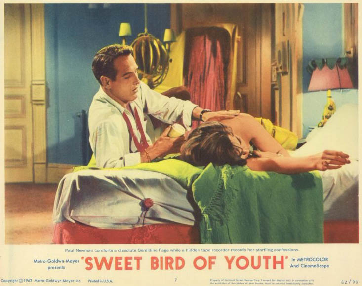 Sweet bird of youth Paul Newman movie poster print