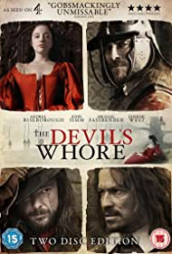 John Simm, Dominic West, Michael Fassbender, and Andrea Riseborough in The Devil's Whore (2008)