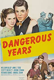 Ann E. Todd, Scotty Beckett, Billy Halop, and Joseph Vitale in Dangerous Years (1947)