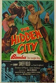 Sue England and Johnny Sheffield in Bomba and the Hidden City (1950)