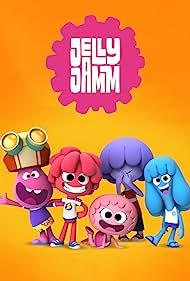 Maria Darling, Emma Weaver, Beth Chalmers, Adam Longworth, Lizzie Waterworth, Isabella Blake-Thomas, and Victor M. Lopez in Jelly Jamm (2011)