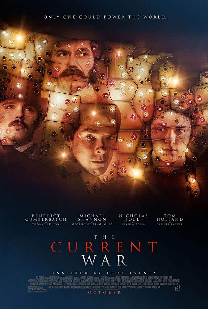 The Current War 2019 English Movie 720p HDRip 800MB KSubs