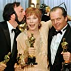 Jack Nicholson, Shirley MacLaine, and James L. Brooks at an event for Terms of Endearment (1983)
