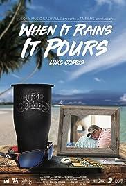 Luke Combs: When It Rains It Pours Poster