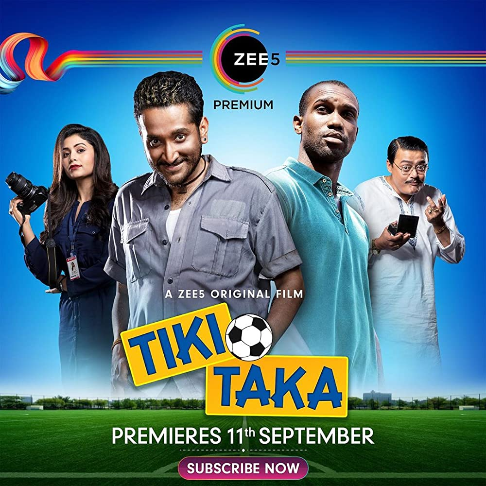 Tiki Taka 2020 Hindi Movie 480p ZEE5 HDRip 300MB ESubs x264 AAC