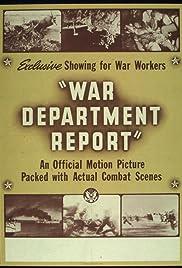 War Department Report Poster