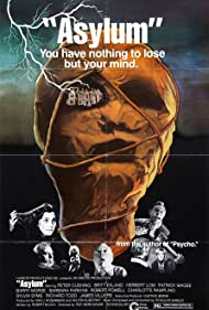 Herbert Lom, Patrick Magee, Barbara Parkins, Sylvia Syms, and Richard Todd in Asylum (1972)