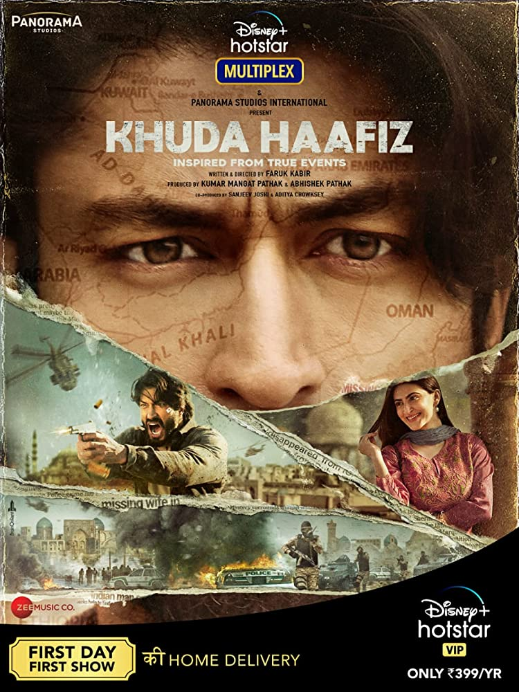 Khuda Haafiz 2020 Hindi 720p HDRip 900MB ESubs Download