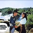 Lex Barker and Karin Dor in Winnetou und Shatterhand im Tal der Toten (1968)