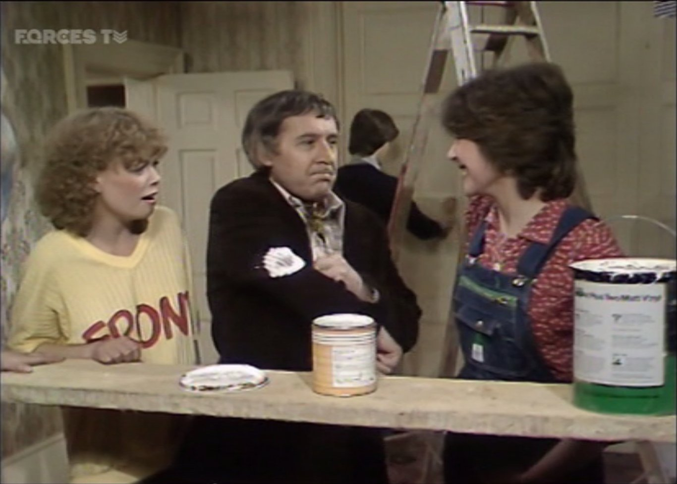 Stacy Dorning, Robert Gillespie, and Jenny Quayle in Keep It in the Family (1980)