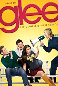 Jane Lynch, Lea Michele, Matthew Morrison, and Cory Monteith in Glee (2009)