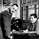 Jerome Cowan and Cy Kendall in Crime by Night (1944)