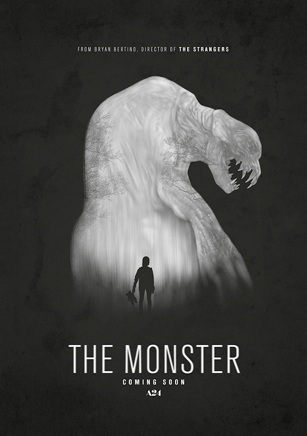 The Monster - poster with Ella Ballentine