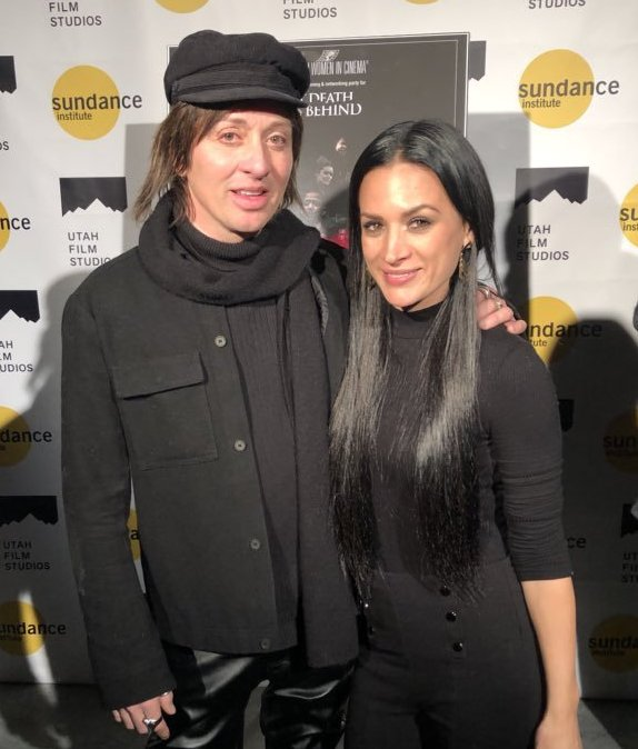 Johnny Alonso and Erin O'Brien Sundance Film Festival 2019 What Death Leaves Behind