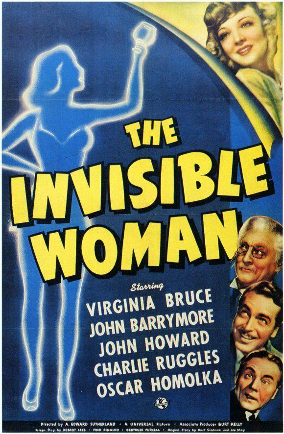 John Barrymore, Virginia Bruce, Oskar Homolka, John Howard, and Charles Ruggles in The Invisible Woman (1940)