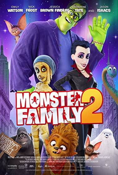 Monster Family 2 (2021) HDRip English Full Movie Watch Online Free