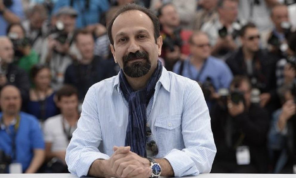 Asghar Farhadi at an event for Forushande (2016)