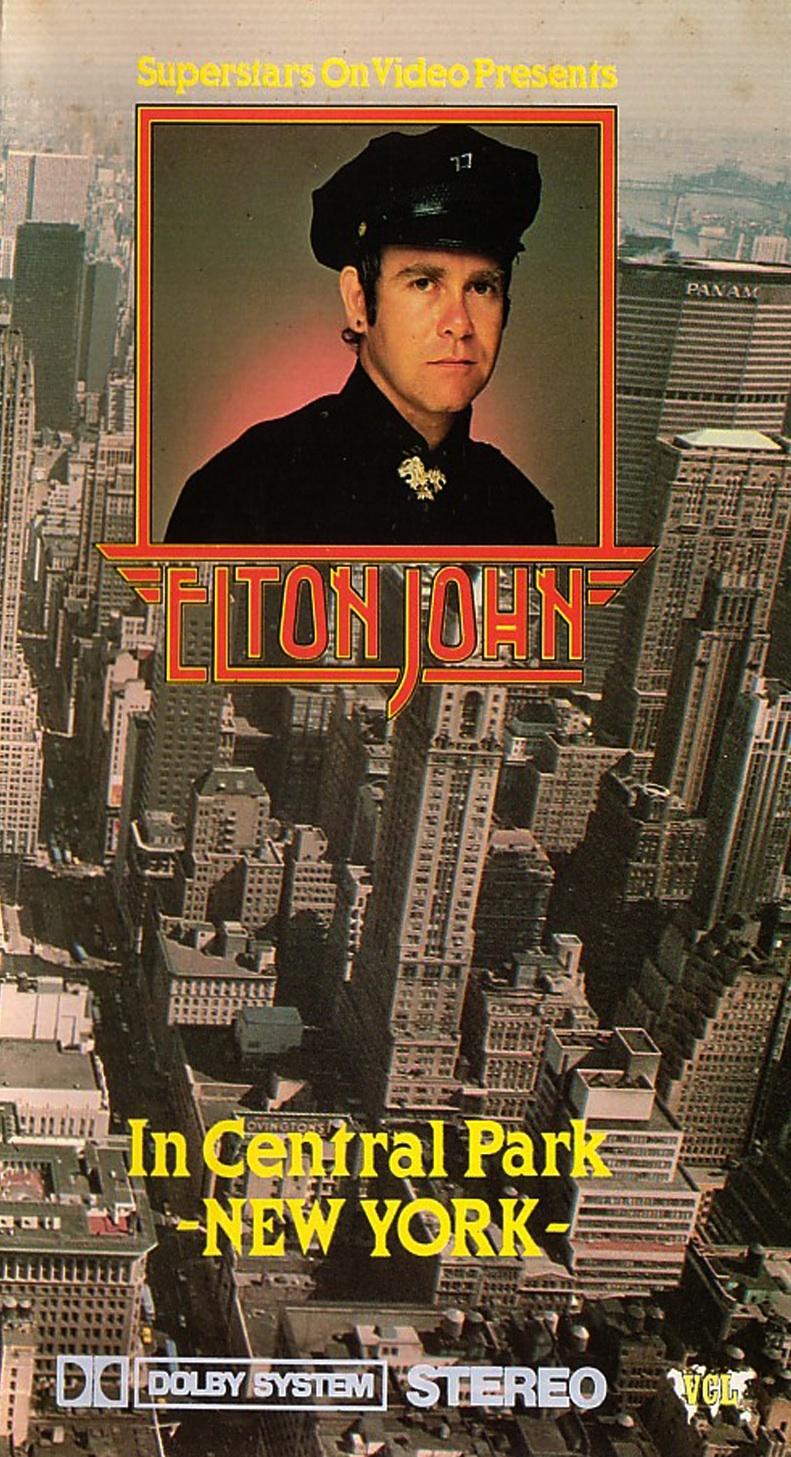 Elton John in Central Park New York (TV Movie 1981) - IMDb