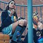 David Moreno Luna and Júlia Ferré in The Girl of the Strange Secret (2020)