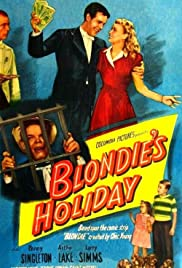 Blondie's Holiday Poster